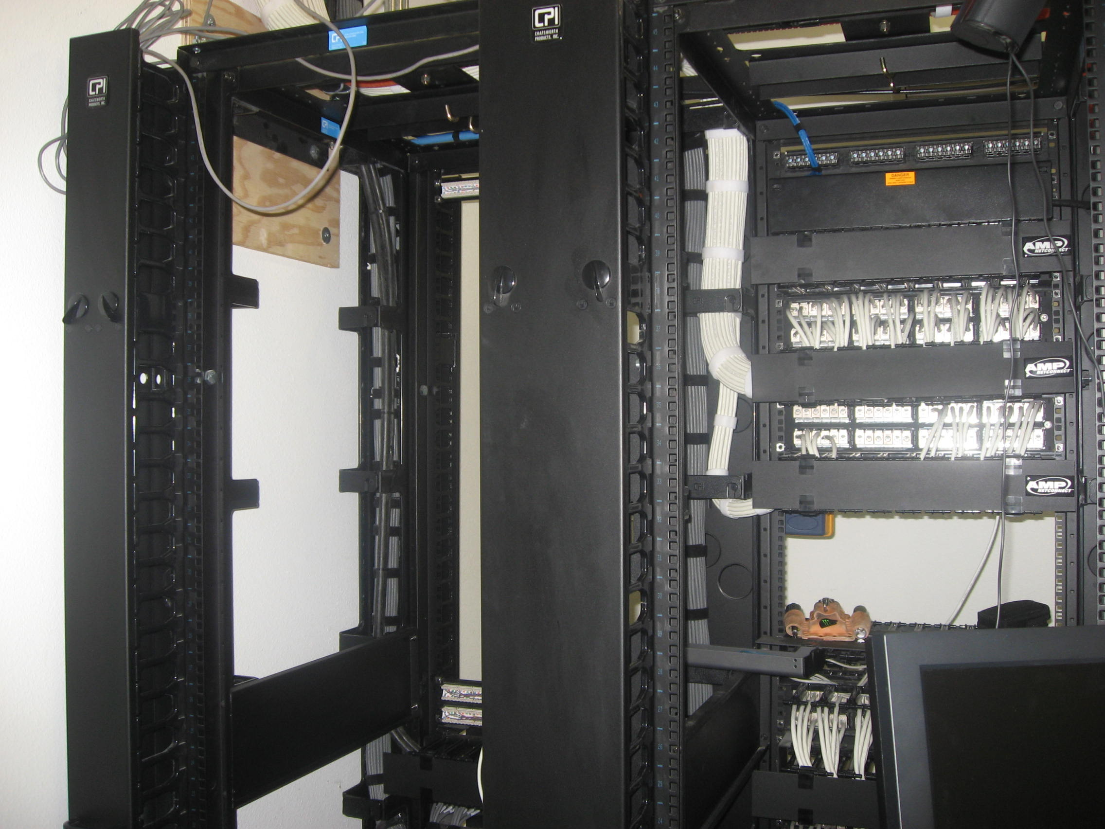 CAT 6 Data Racks